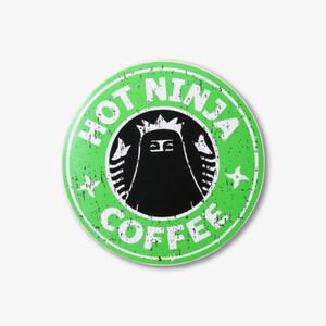 Sticker - Hot Ninja Coffee