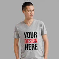 Men's V-Neck Tshirt