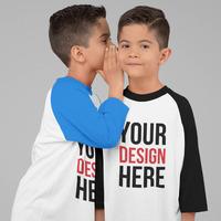 Kids Raglan Tshirt