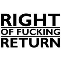 Right of Return