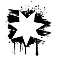 Jordan Flag Star (on light)
