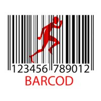 Barcod (on light)