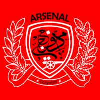 Arsenal (on red)
