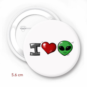 I Love Alien - by Hiba Wasef
