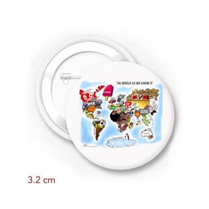 The World As We Know It - by Osama Hajjaj