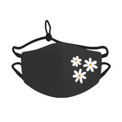 Face Mask White Flowers Thumbnail
