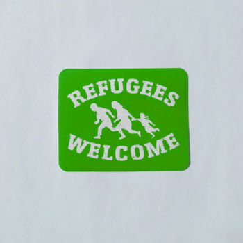 Sticker - Refugees Welcome Thumbnail