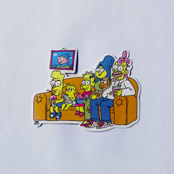 Sticker - Simpsons family Thumbnail