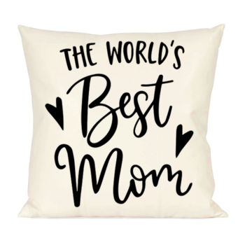 World Best Mom Pillow Thumbnail