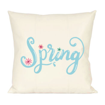 Hello Spring Pillow Thumbnail