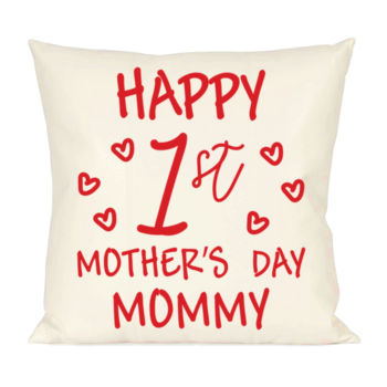 Happy First Mothers Day Pillow Thumbnail
