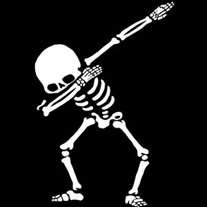 Skeleton Dabbing - by Imad Shawa Thumbnail